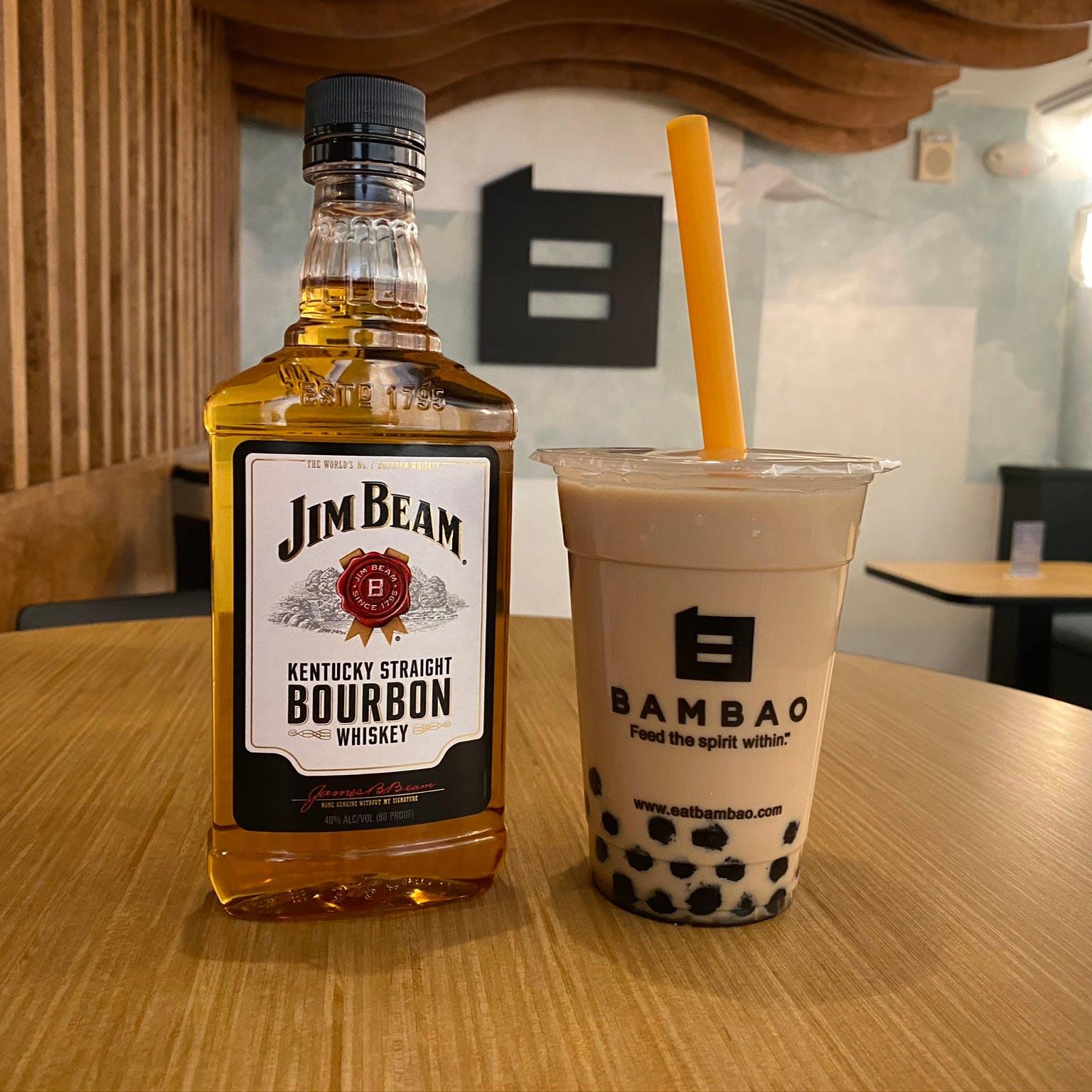 Bourbon Milk Tea from Bambao