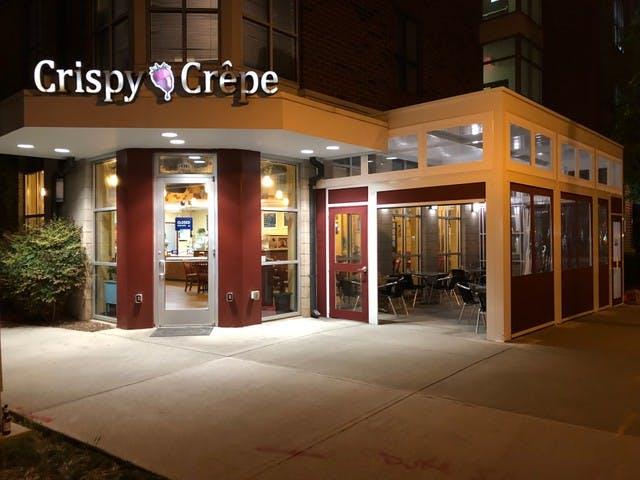 Crispy Crepe at night