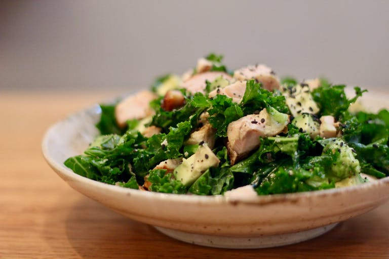 Clean Green Roast Chicken Salad