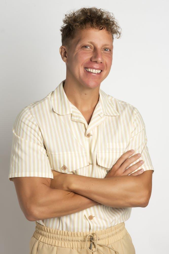 Matt Levine posing for the camera
