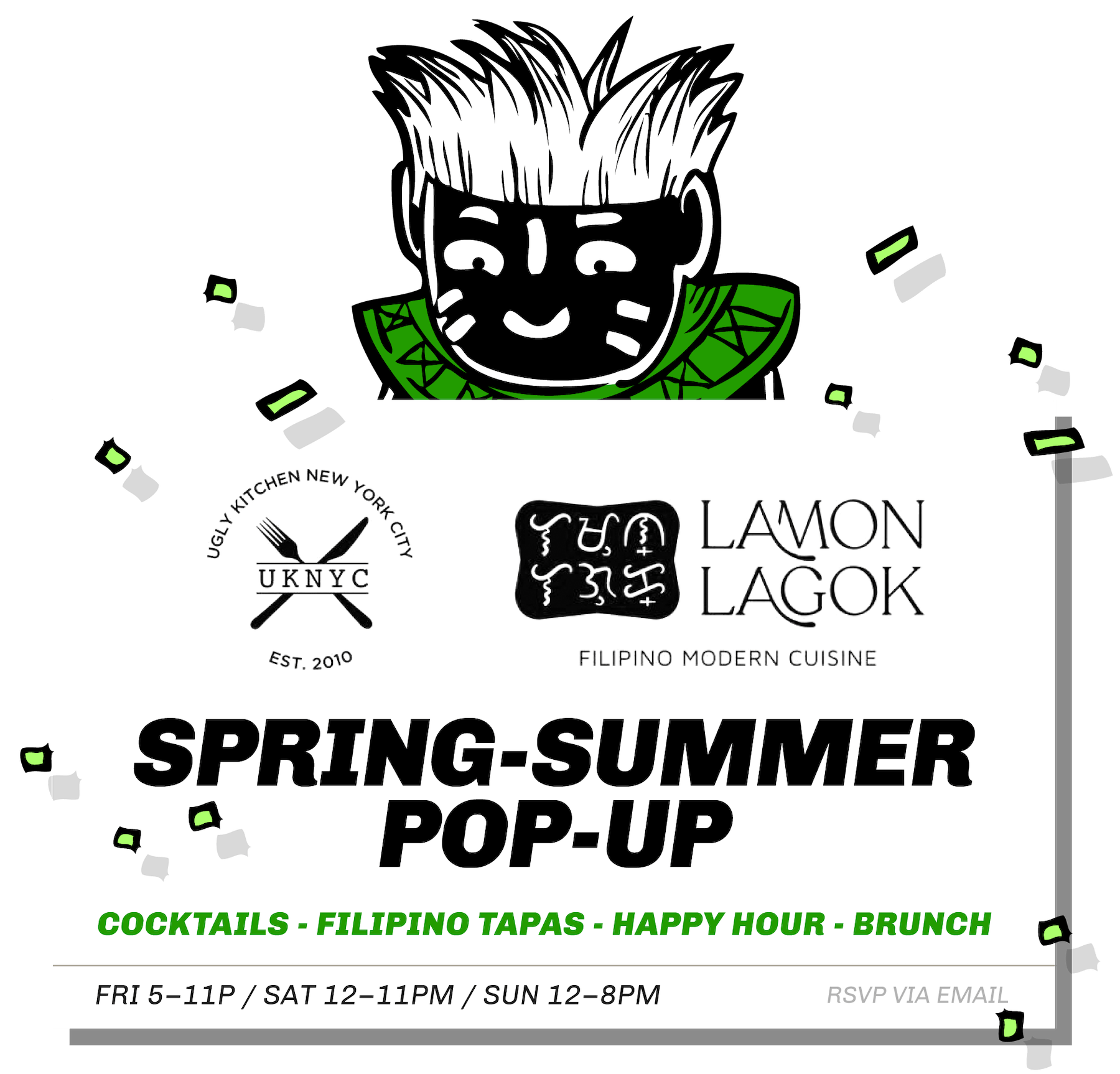 Message Box: Spring Summer PopUp