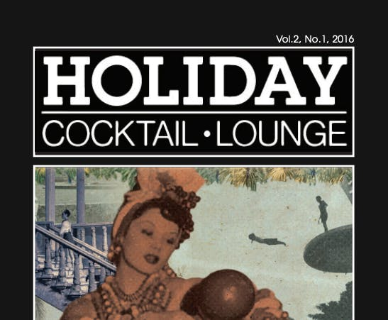 The cover of Holiday on Holiday menu 2016