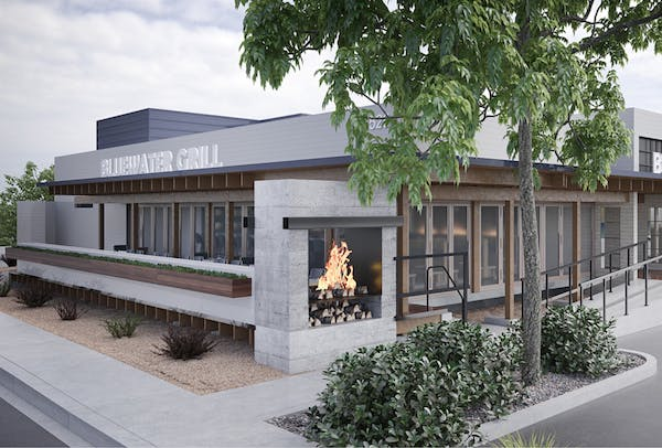 Rendering of the new bluewater phoenix location