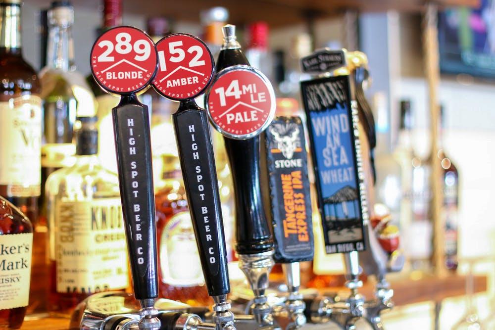 High Spot Beer Taps