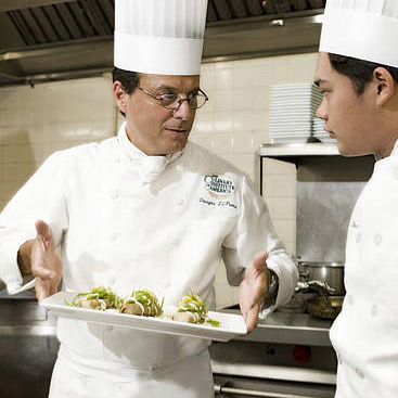 Dwayne Lipuma '86 Chef-Instructor—Lunch at American Bounty Restaurant at the CIA in Hyde Park, NY.