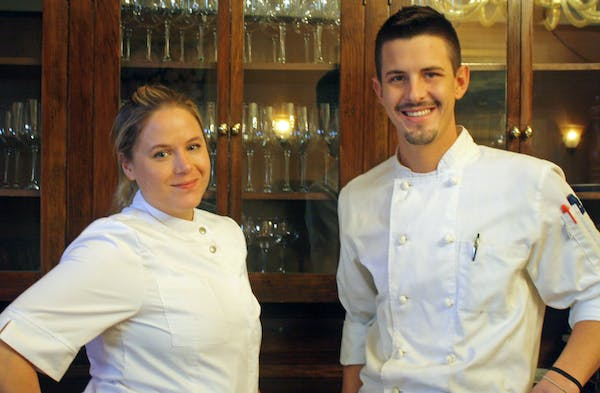 Rudi's Portsmouth executive chef and sous chef