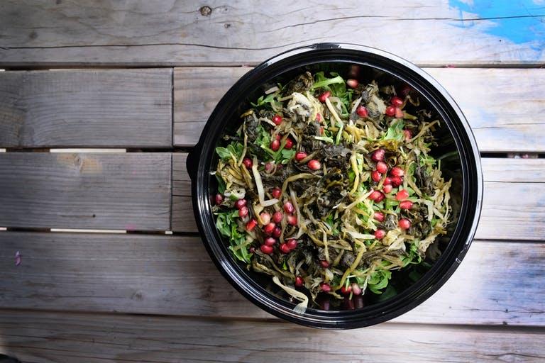 Gandzili (Ramson) Salad