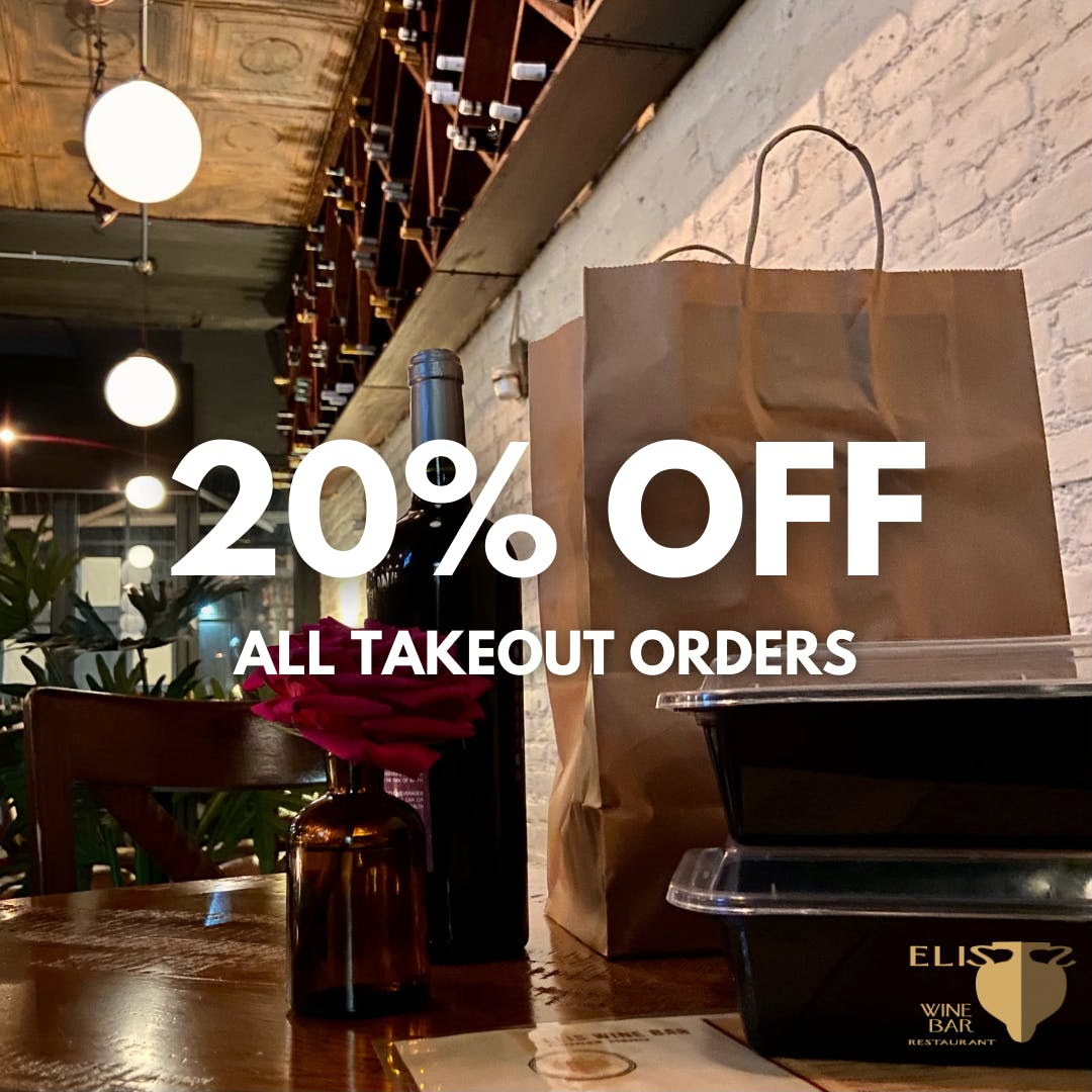 20% Off Takeout Orders
