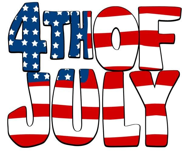 4th of july summer. Celebrate th in lic
