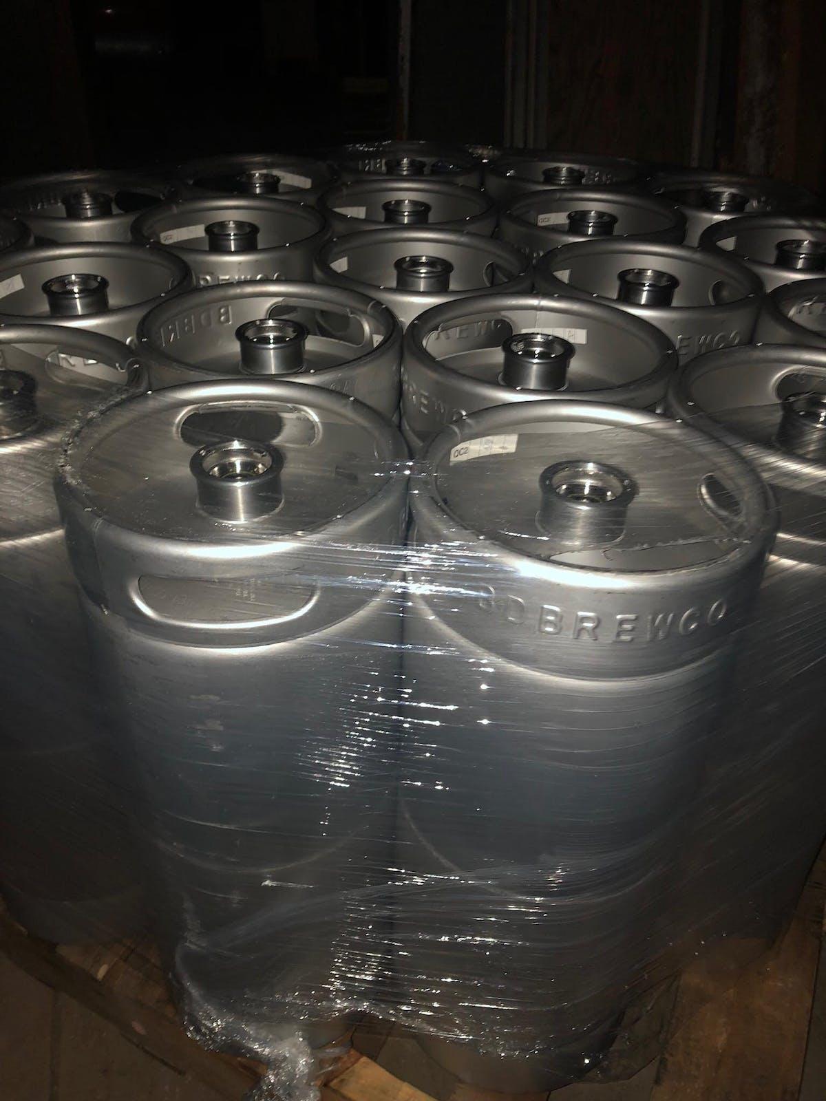 keg of beers