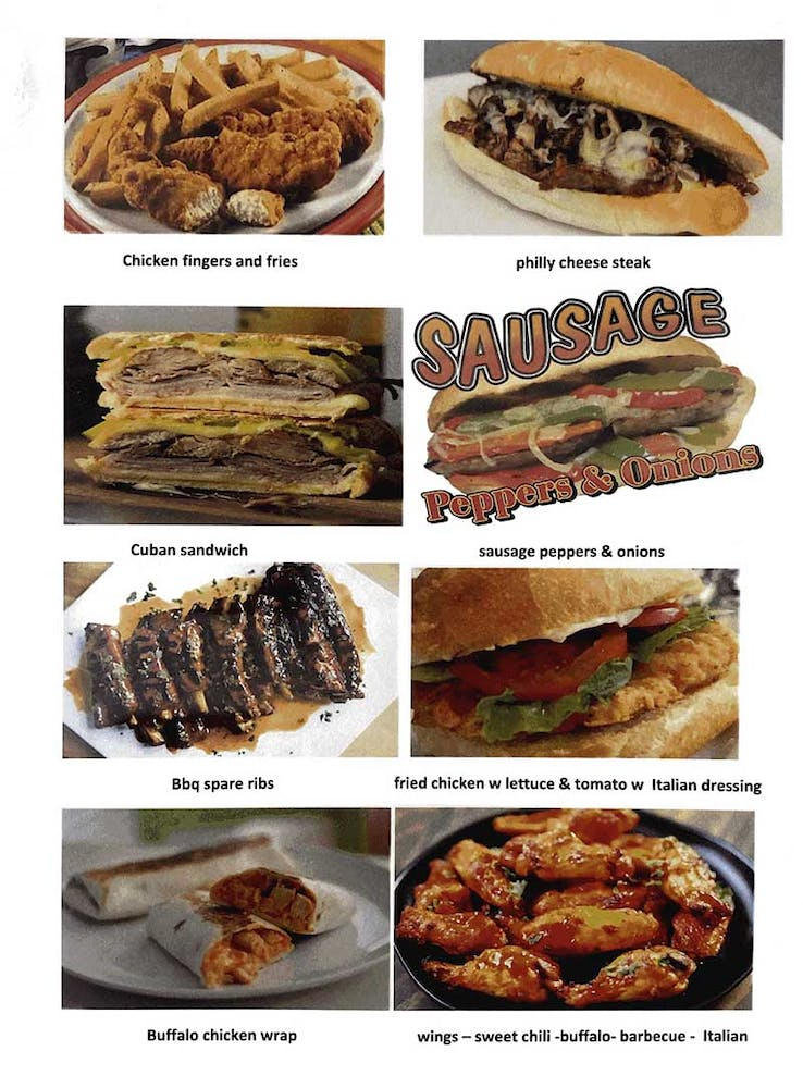 many different types of food
