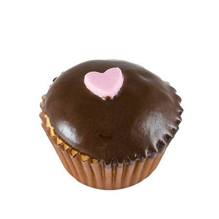a chocolate donut