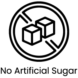 a picture of a digital artwork representing no artificial sugar