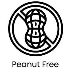 a picture of a digital artwork representing peanut free