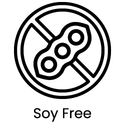 a picture of a digital artwork representing soy free