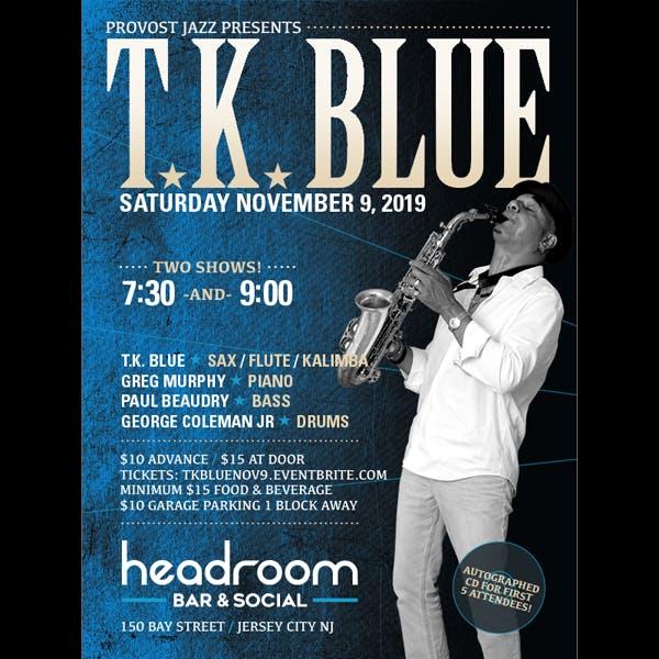 t.k. blue poster