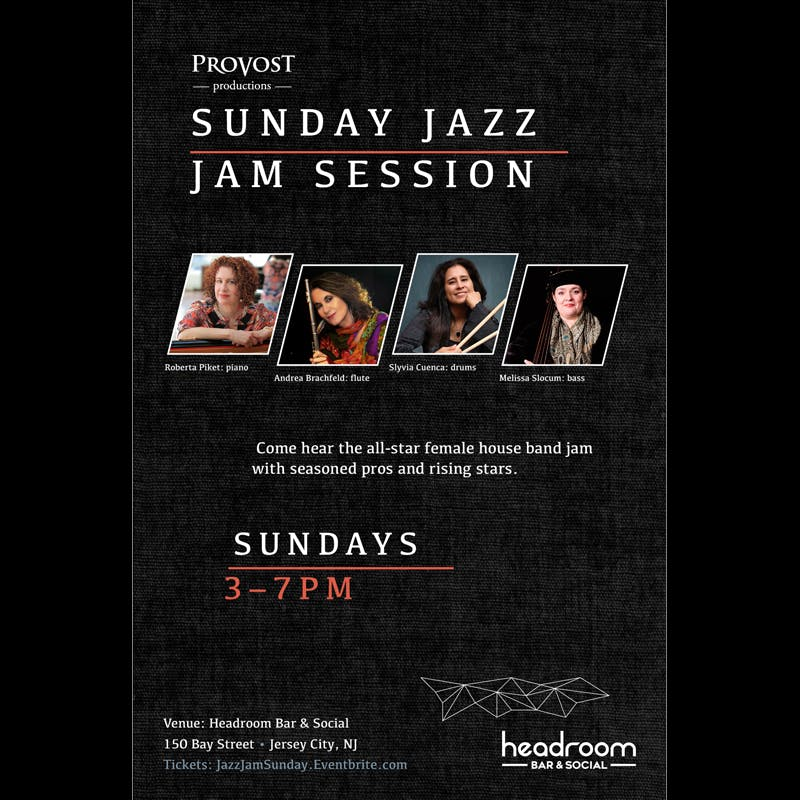 Sunday Jazz Jam Session poster