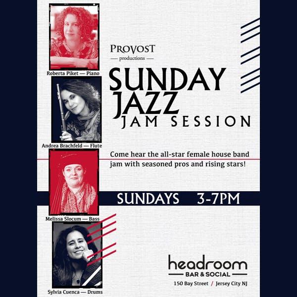 Sunday Jazz Jam Session poster