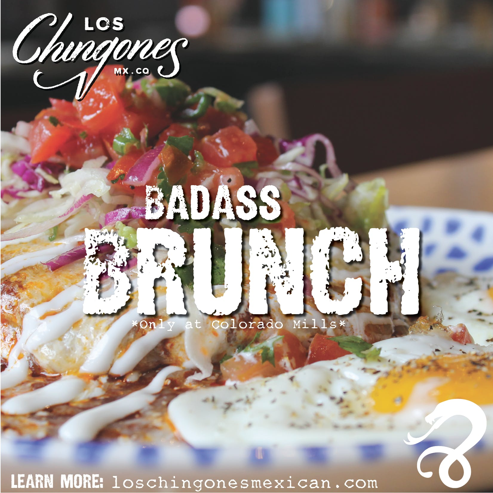 los chingones brunch colorado mills
