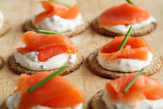 salmon snacks