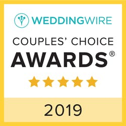 weddingwire couples' choice awards logo