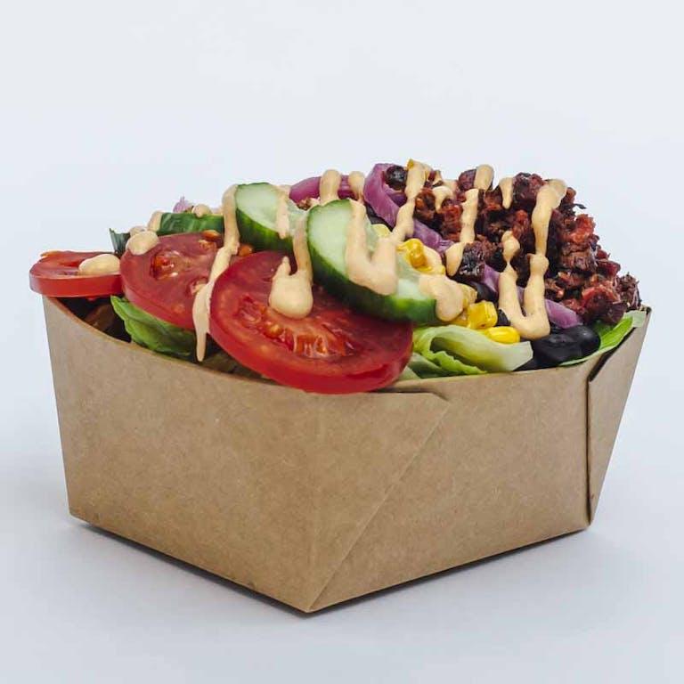 a box full of food