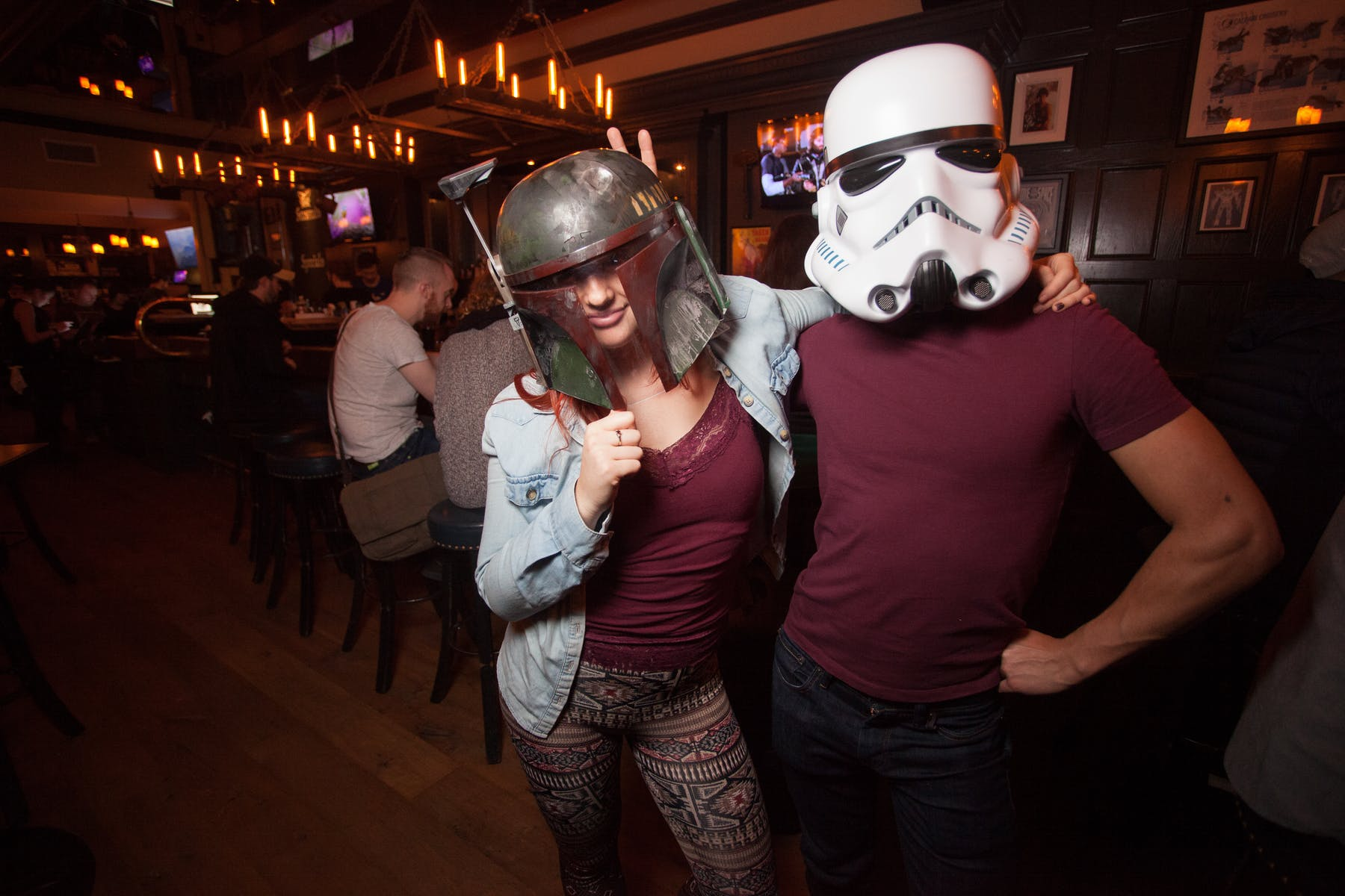Star Wars theme outfits at Storm Crow