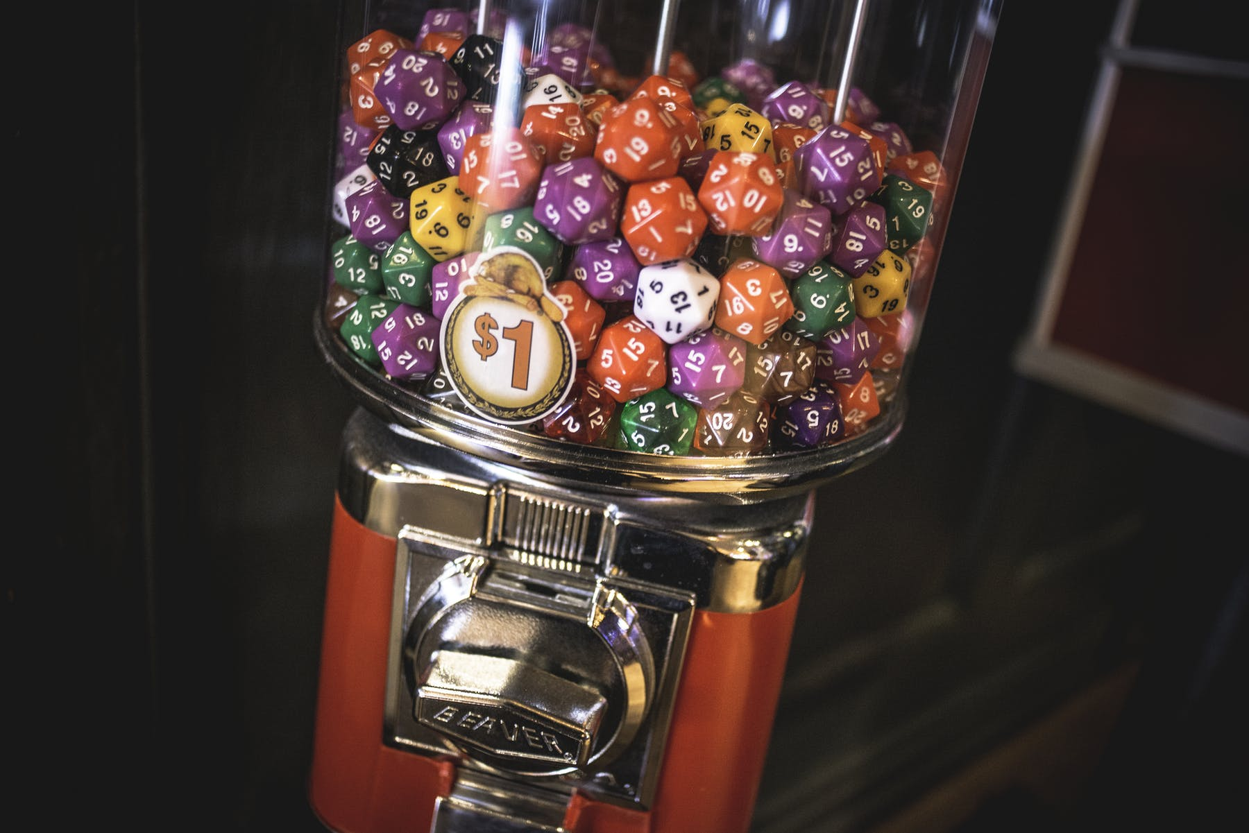 D20 vending machine