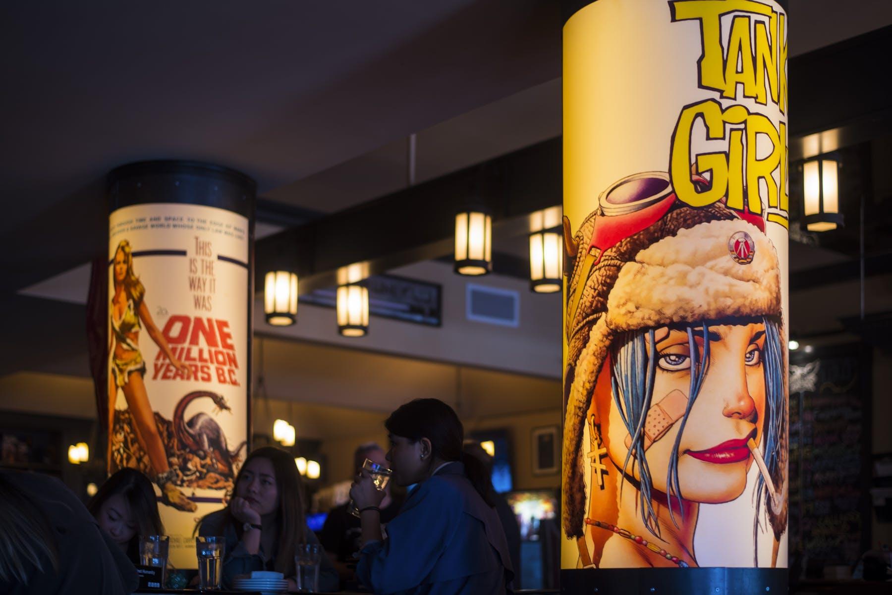 Inside of Vancouver nerd bar Storm Crow Alehouse