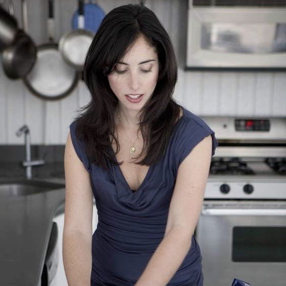 Silvana Nardone in a black pan on a stove top oven