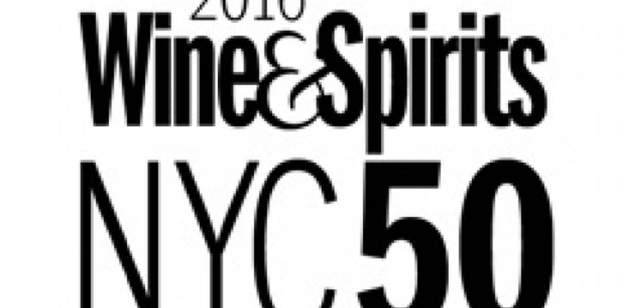 Batard Named One Of Nyc S 50 Best By Wine Spirits Magazine Myriad Restaurant Group New York New York
