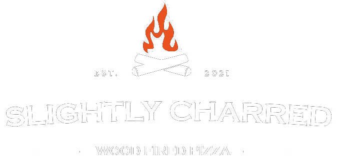 Slightly Charred Wood Fired Pizza Home