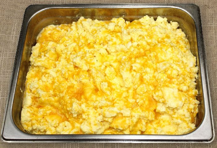 Scrambled Eggs with Cheese