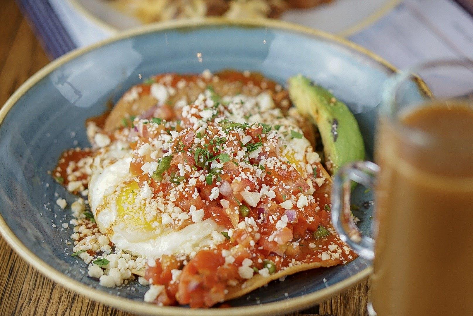an enchilada