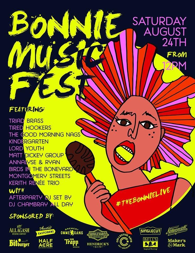 Bonnie Music Fest August 24