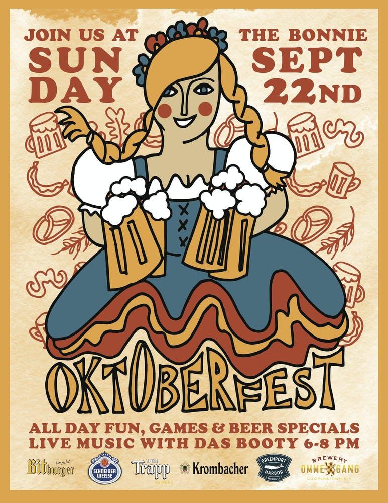 Oktoberfest Sunday Sept 22 all day