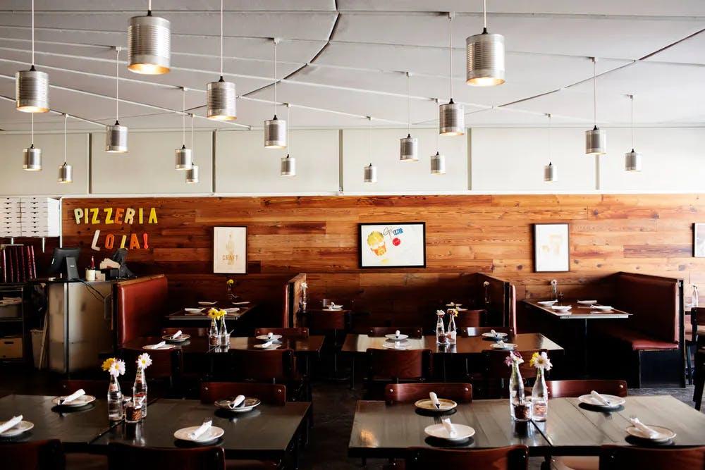 Pizzeria lola dining room
