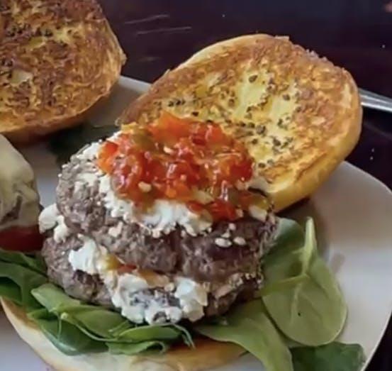 a sandwich on a plate
