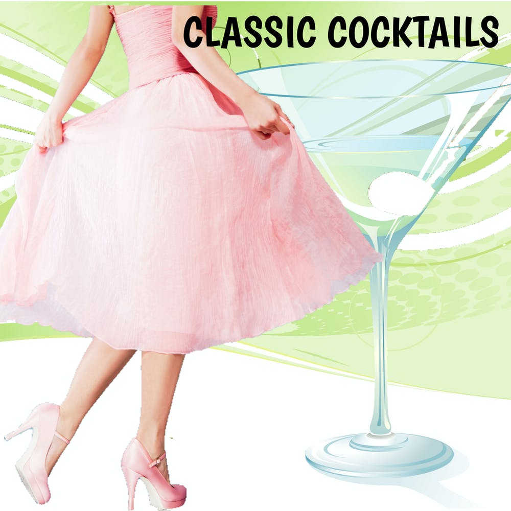 Classic Cocktails Menu poster