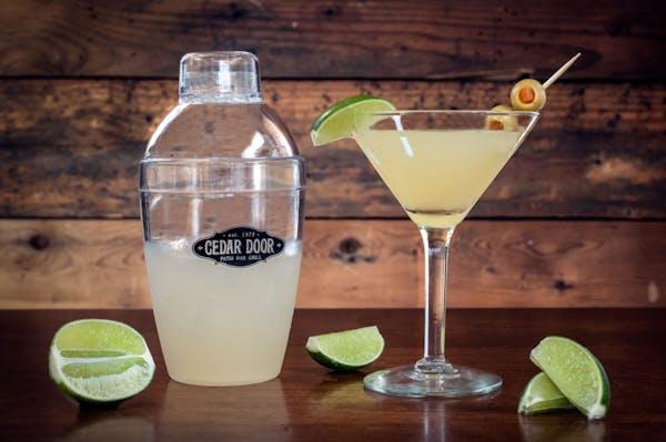 the cedar door original mexican martini