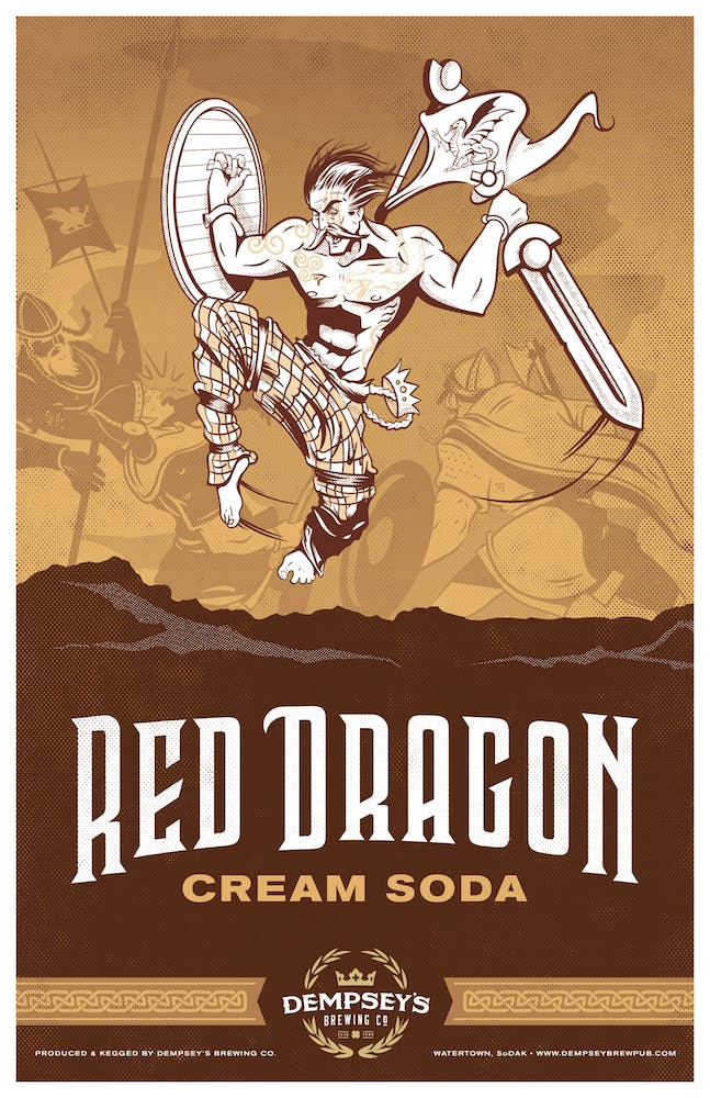 Red Dragon Cream Soda logo