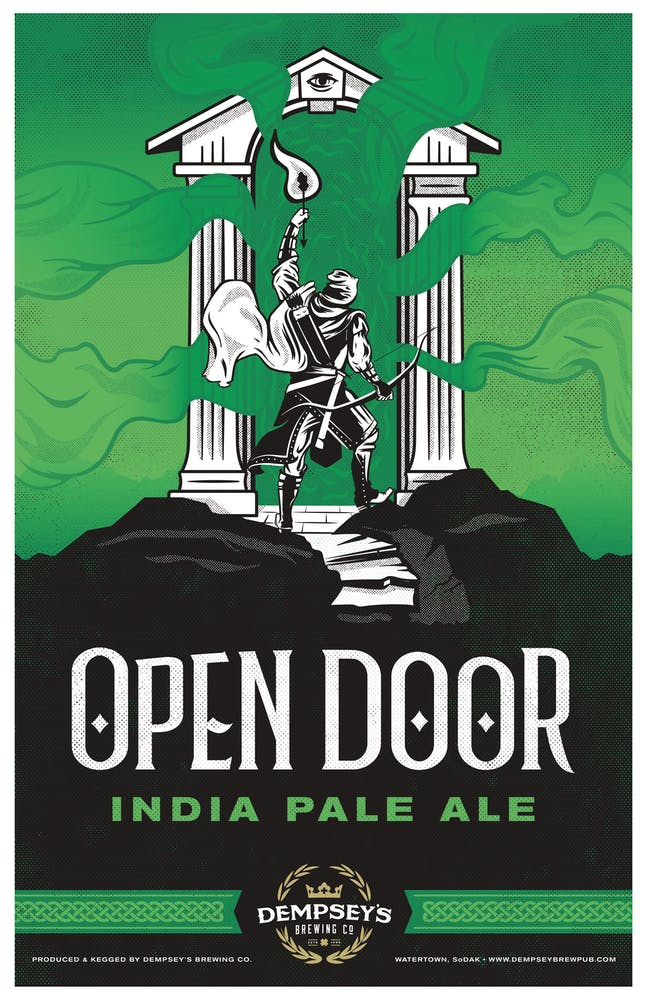 Open Door India Pale Ale logo
