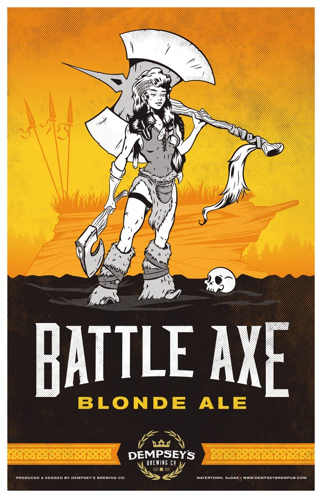 Battle Axe Blonde Ale