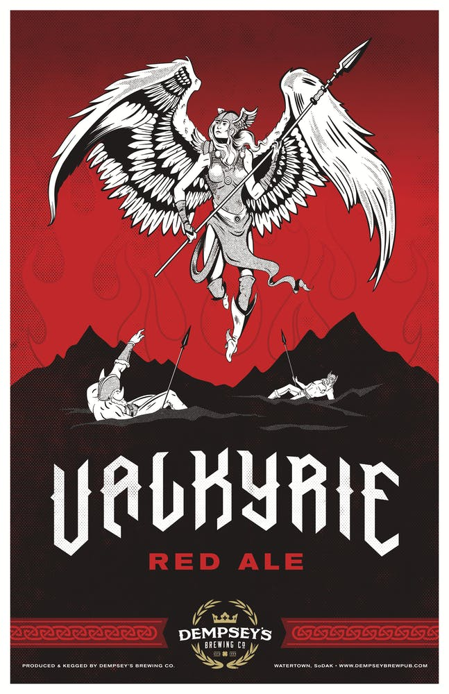 Valkyrie Red Ale logo