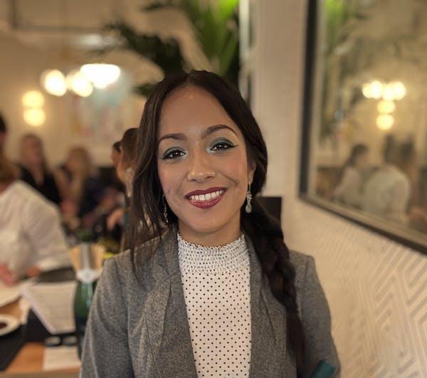 Jonella smiling