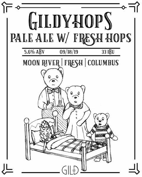 Gildyhops bear logo