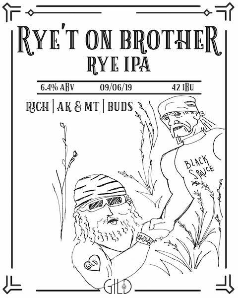 Rye't On Brother hulk hogan logo