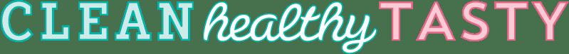 Clean healthy tasty logo