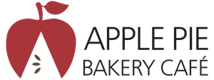Apple pie bakery cafe logo