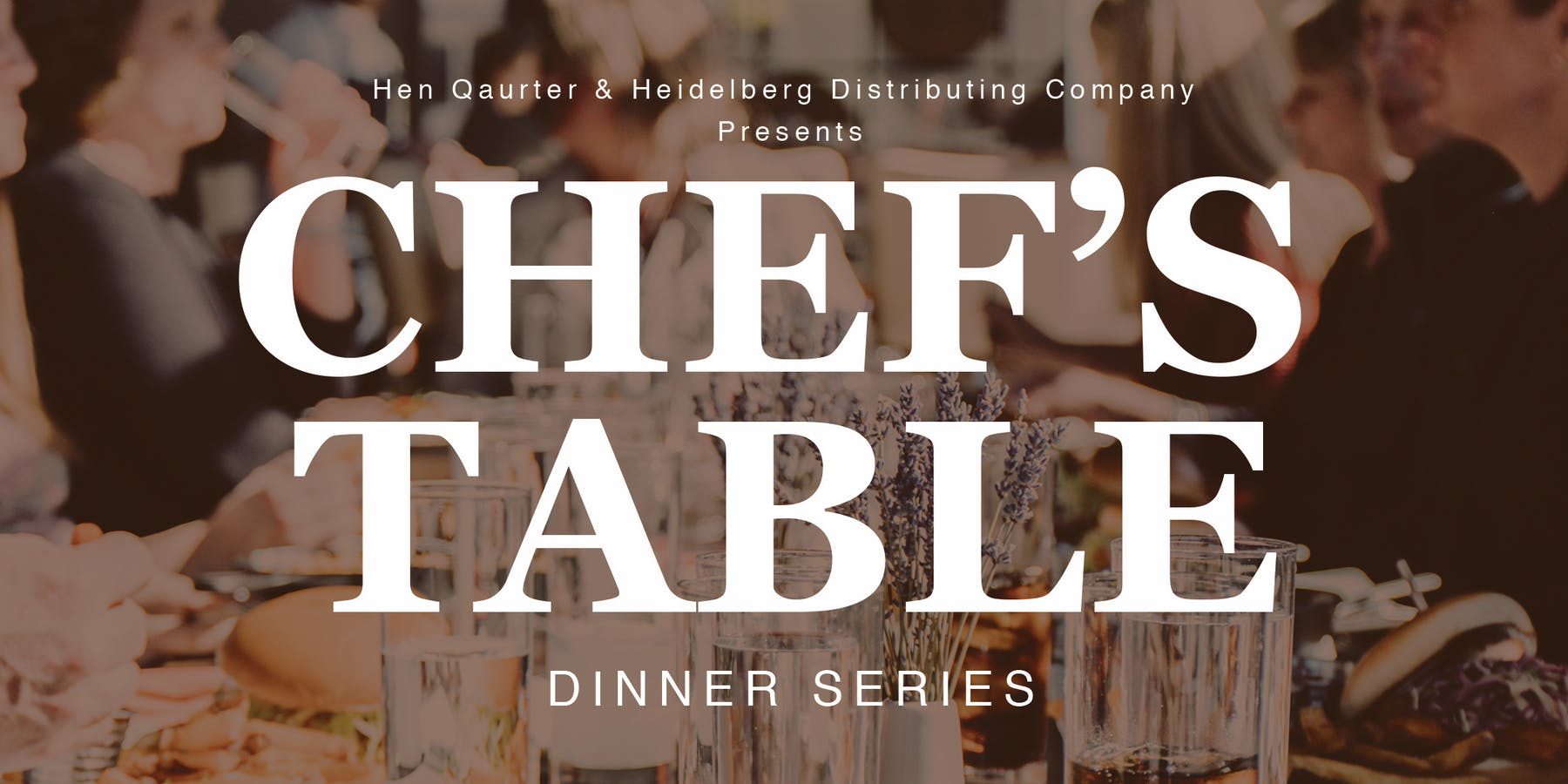 Chef's Table Banner